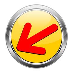 Button Pfeil gelb rot  #1417-02