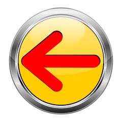 Button Pfeil gelb rot  #1417-03