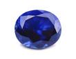 Natural sapphire gemstone