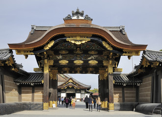 Entrance gate of Nijo Castle
