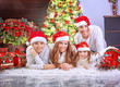 Christmas holiday at home