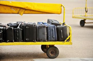 Airport luggage transportation