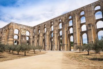Roman aqueduct of Elvas, Portugal