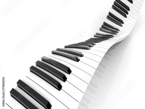 teclado-de-piano-abstracto-ondulado-aislado-en-blanco