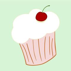zeichnung cupcake II