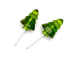 Candy christmas tree, lollipop