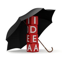 proteggere un idea