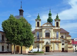 Collegiate Church of Virgin Mary in Ivano-Frankivsk, Ukraine