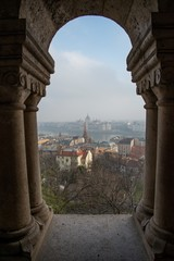 Cityscape of Budapest, capital of Hungary