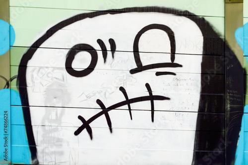 Geist Gespenst Graffiti © Ewald Fröch