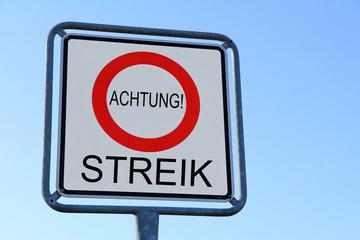 Achtung Streik!