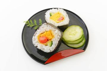 美味しそうな巻き寿司