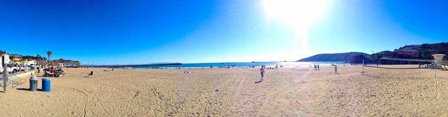 Nice sunny day in Avila Beach California