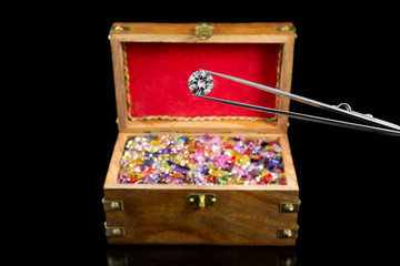 Magnificent Diamond & Treasure chest