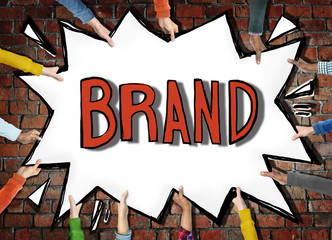 Brand Marketing Branding Copyright Identity Trademark Concept