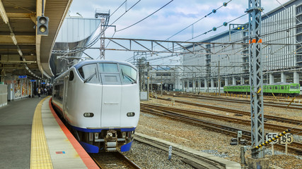 Haruka airport express in Kyoto Station