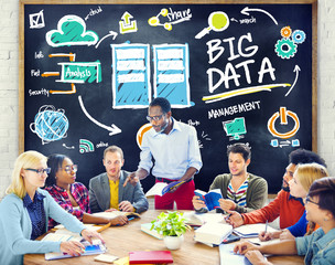 Diversity People Big Data Learning Information Studying Concept