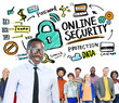 Online Security Protection Internet Safety People Leadership Con