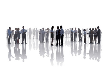 Business People Corporate White Collar Worker Communication Conc