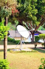 Dish aerial or Satellite dish