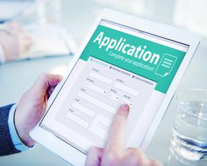 Application Human Resources Hiring Job Recruitment Employment Co