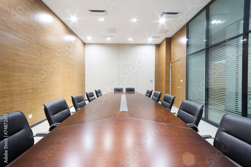 modern office meeting room interior - 74872615