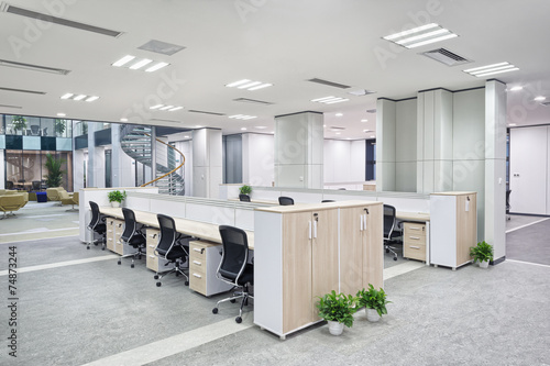 modern office interior - 74873244