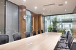 modern office meeting room interior - 74873459