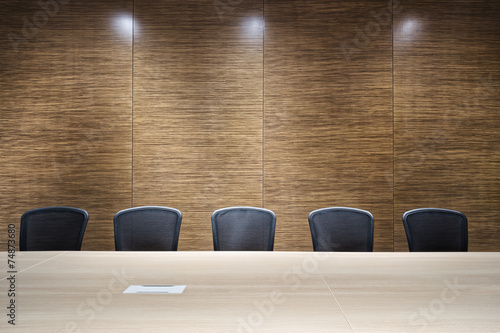 modern office meeting room interior - 74873680