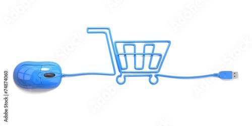 shopping cart - 74874060