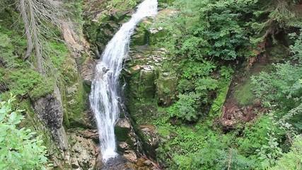 Magical Kamienczyk Waterfall.