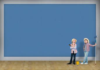 children painters