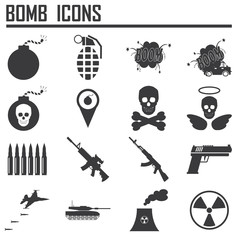 Bomb icon,weapon