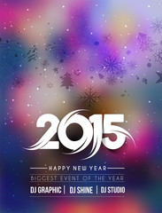New Year Party Flyer & Poster Template Design