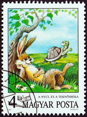 The Hare and The Tortoise, Aesop (Hungary 1987)