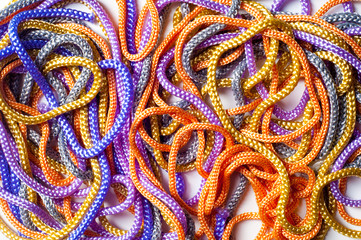 Shoelaces.  background