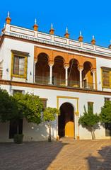 Patio of Casa de Pilatos - Seville Spain