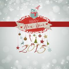 2015, happy New Year vintage