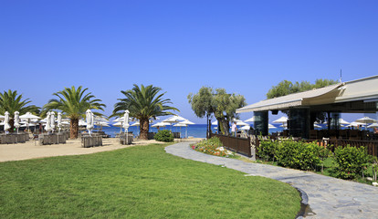 Beach of Anthemus Sea Hotel.