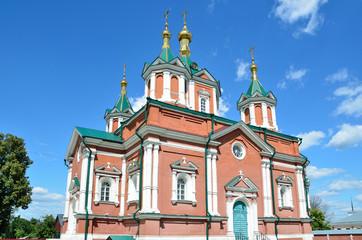Крестовоздвиженский собор Брусенского монастыря в Коломне