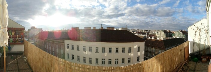 Balkon Panorama Wien Ottakring