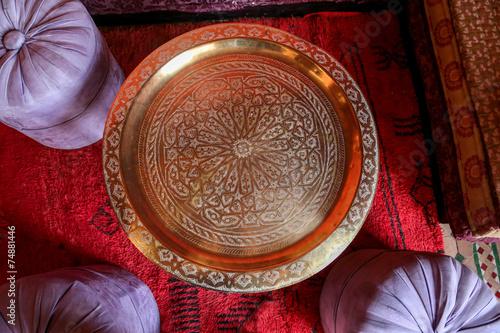 Papiers peints Maroc plateau à thé - marrakech 3