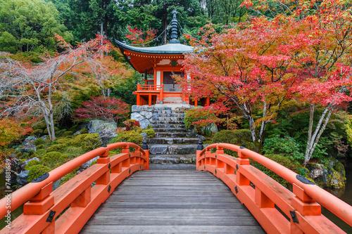 Fotobehang Japan Daigoji Temple in Kyoto