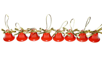 xmas christmas bells red decoration jingle new year