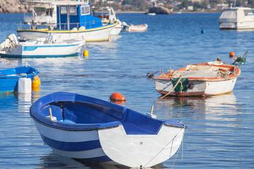 Fischerboote in Griechenland