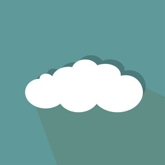 Icon of the white cloud