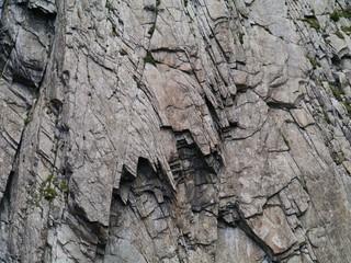 Pattern in relief of a rock in Switzerland