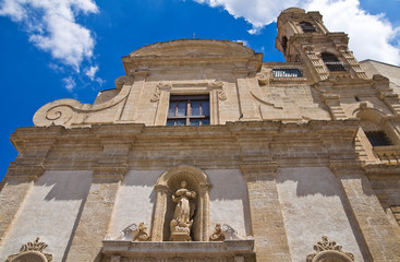 Church of St. Chiara. Altamura. Puglia. Italy.
