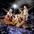 Natività con stella cometa