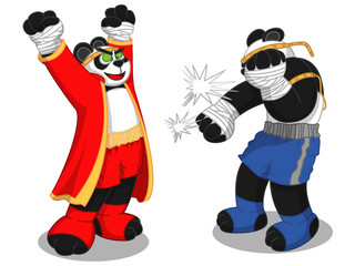 Panda-Muay Thai2